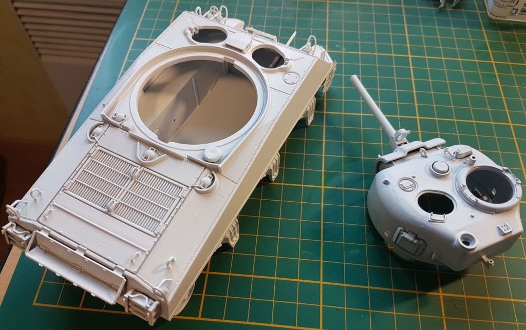 """Fil rouge 2021 * Sherman """"calliope"""" Revell 1/35 *** Terminé en pg 11 - Page 3 20210145"""