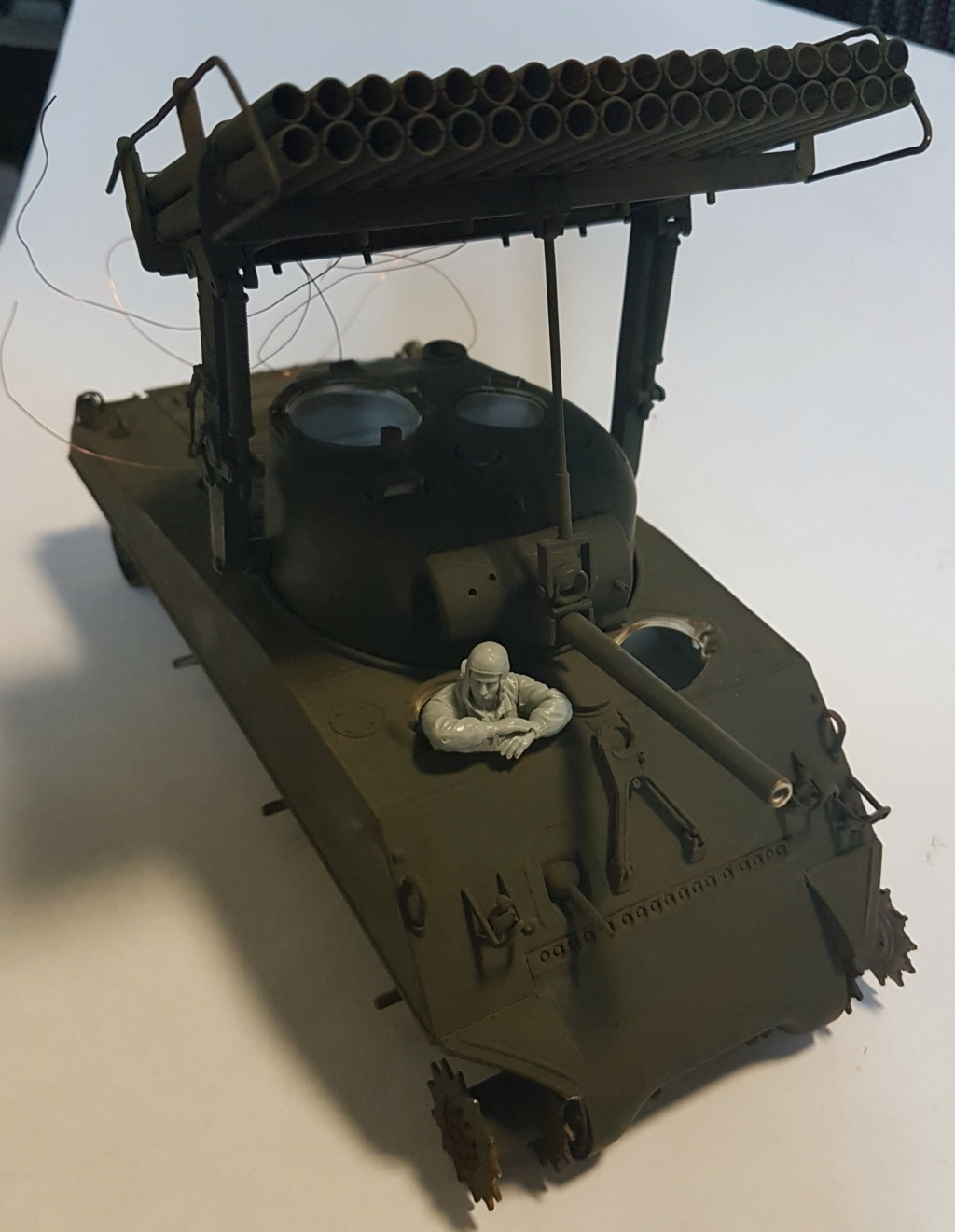 """Fil rouge 2021 * Sherman """"calliope"""" Revell 1/35 (terminé en page 11) - Page 5 20210210"""