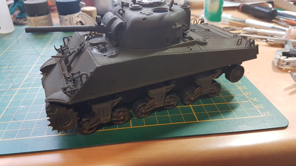 """Fil rouge 2021 * Sherman """"calliope"""" Revell 1/35 (terminé en page 11) - Page 5 20210213"""
