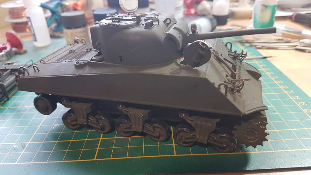 """Fil rouge 2021 * Sherman """"calliope"""" Revell 1/35 (terminé en page 11) - Page 5 20210214"""
