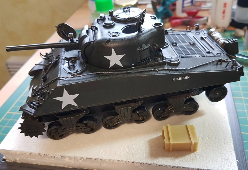 """Fil rouge 2021 * Sherman """"calliope"""" Revell 1/35 (terminé en page 11) - Page 8 20210319"""