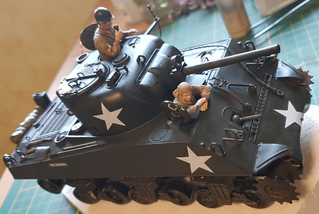 """Fil rouge 2021 * Sherman """"calliope"""" Revell 1/35 (terminé en page 11) - Page 8 20210322"""