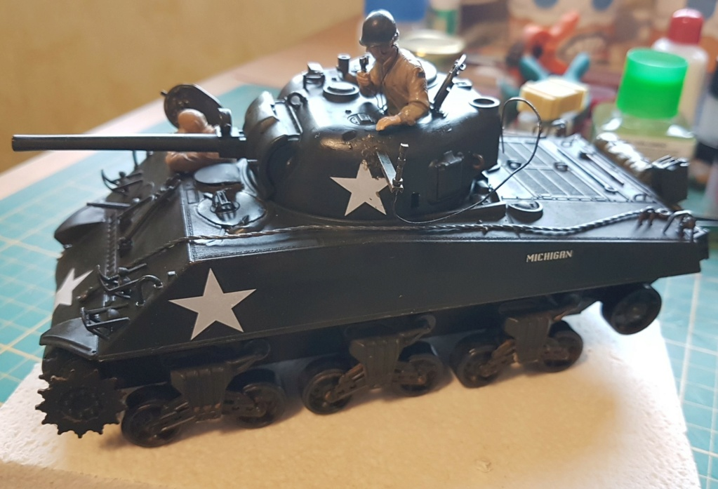 """Fil rouge 2021 * Sherman """"calliope"""" Revell 1/35 (terminé en page 11) - Page 8 20210323"""
