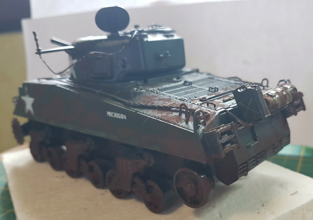 """Fil rouge 2021 * Sherman """"calliope"""" Revell 1/35 (terminé en page 11) - Page 8 20210326"""