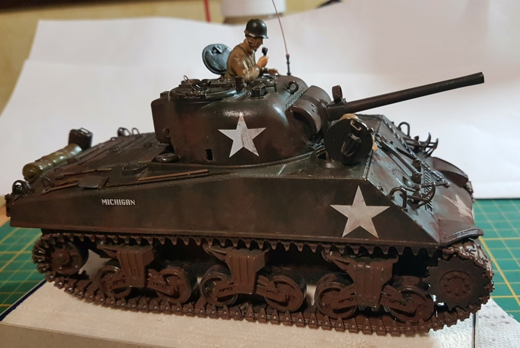 """Fil rouge 2021 * Sherman """"calliope"""" Revell 1/35 *** Terminé en pg 11 - Page 9 20210329"""
