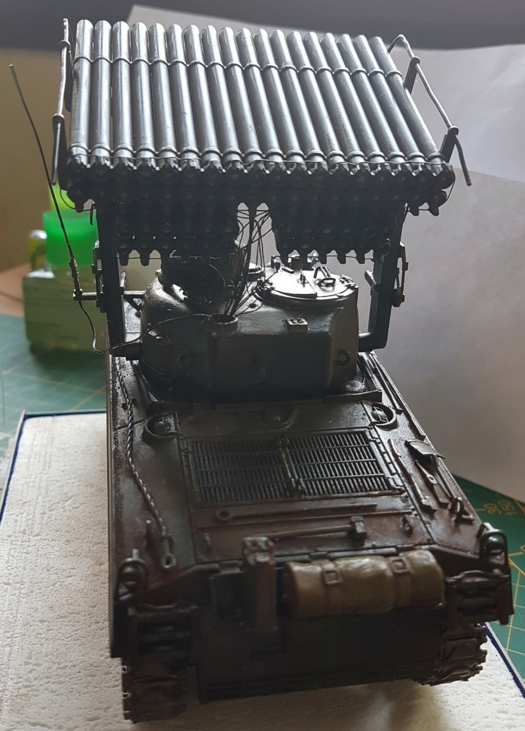 """Fil rouge 2021 * Sherman """"calliope"""" Revell 1/35 *** Terminé en pg 11 - Page 9 20210333"""