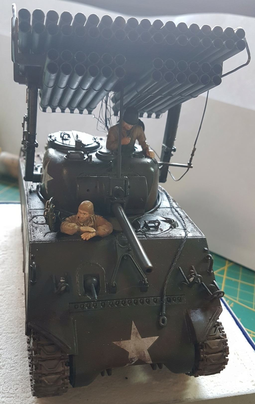 """Fil rouge 2021 * Sherman """"calliope"""" Revell 1/35 *** Terminé en pg 11 - Page 9 20210334"""