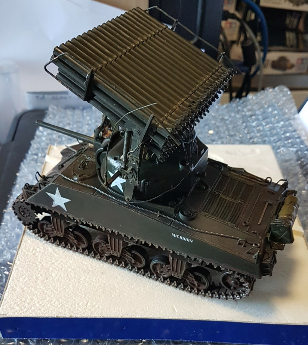 """Fil rouge 2021 * Sherman """"calliope"""" Revell 1/35 *** Terminé en pg 11 - Page 9 20210337"""