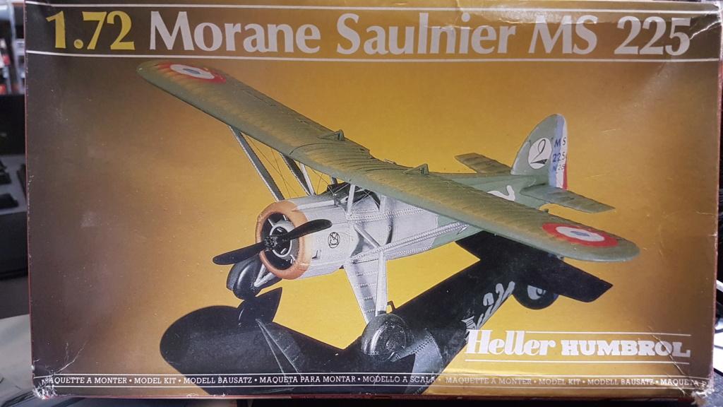 Fil rouge 2021 * Morane Saulnier MS 225 (Heller 1/72) 20210350