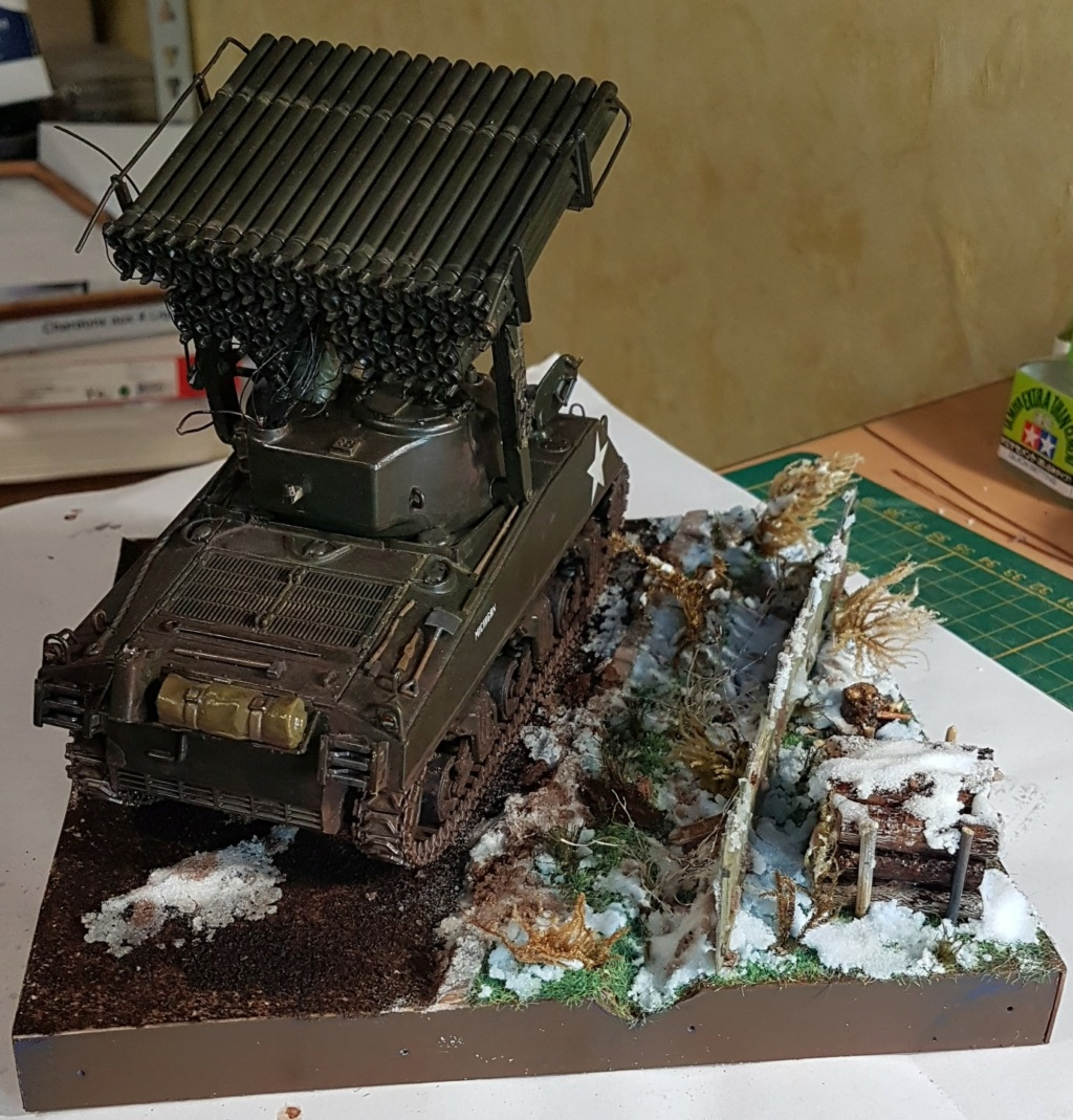 """Fil rouge 2021 * Sherman """"calliope"""" Revell 1/35 (terminé en page 11) - Page 11 20210419"""