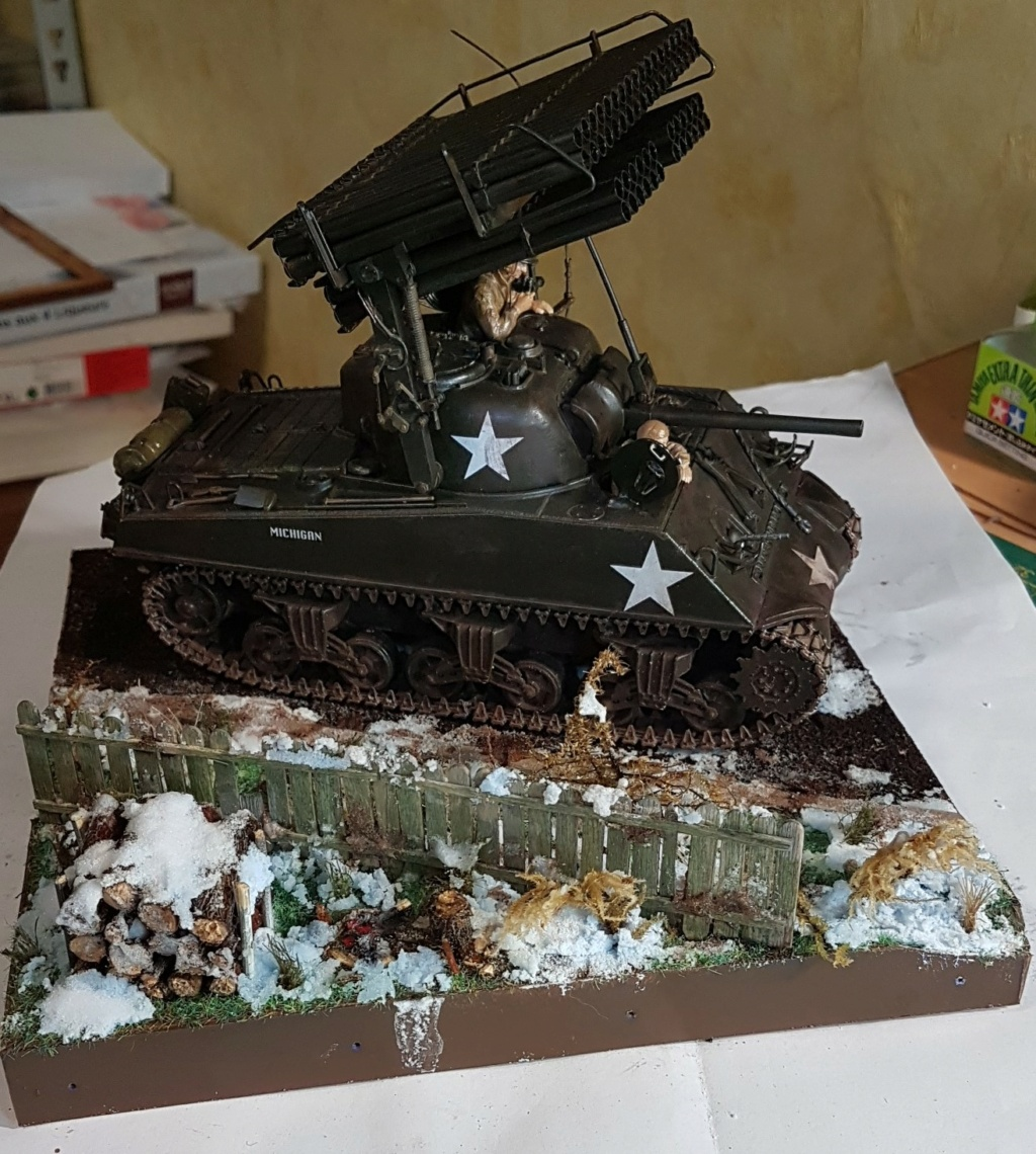 """Fil rouge 2021 * Sherman """"calliope"""" Revell 1/35 (terminé en page 11) - Page 11 20210423"""