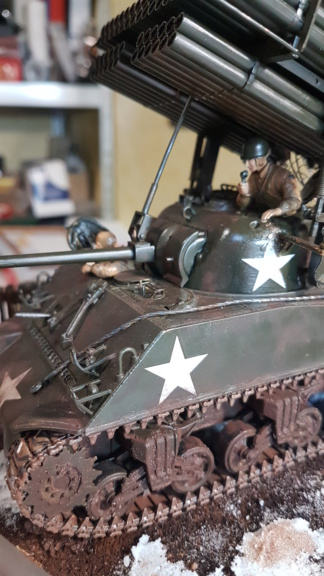 """Fil rouge 2021 * Sherman """"calliope"""" Revell 1/35 (terminé en page 11) - Page 11 20210425"""