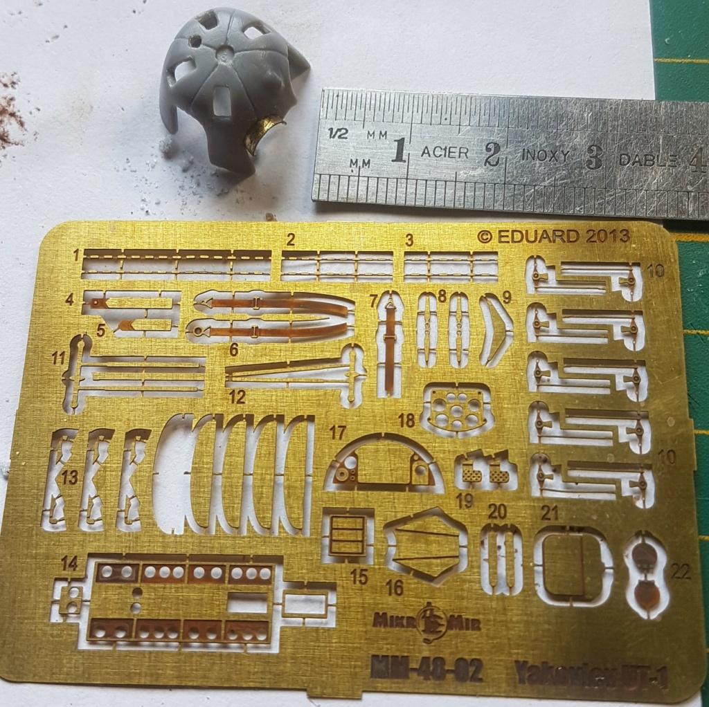 Yak UT1, 1/48 mikromir 20210426