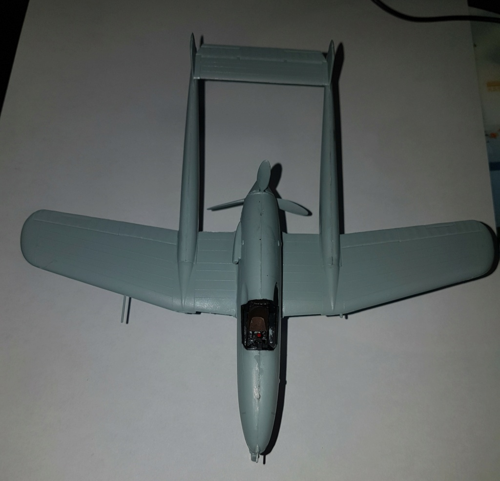 SAAB J-21 A  Heller 1/72 from the box 20210555