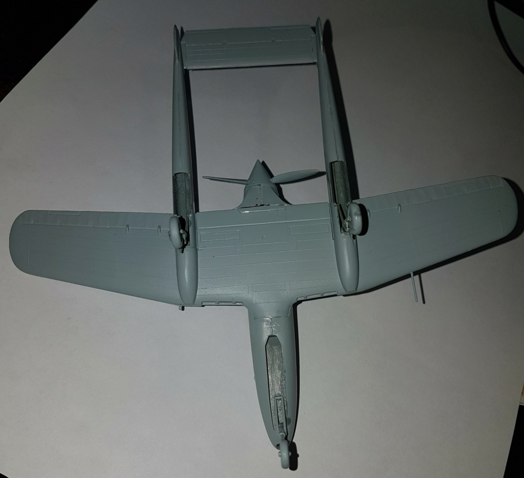 SAAB J-21 A  Heller 1/72 from the box 20210556