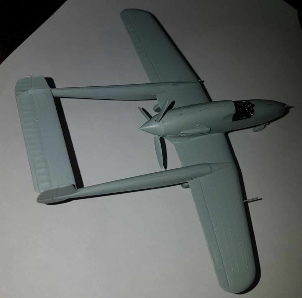 SAAB J-21 A  Heller 1/72 from the box 20210557