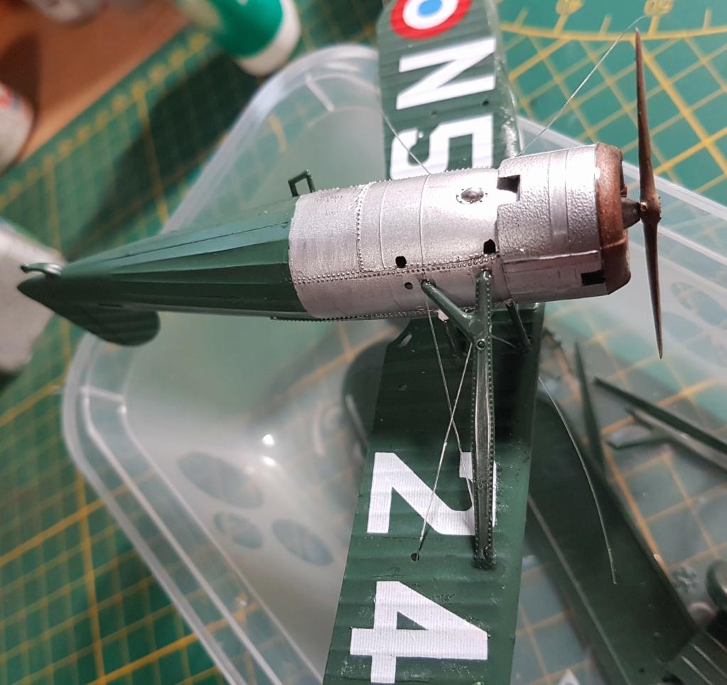 Fil rouge 2021 * Morane Saulnier MS 225 (Heller 1/72) - Page 3 20210666