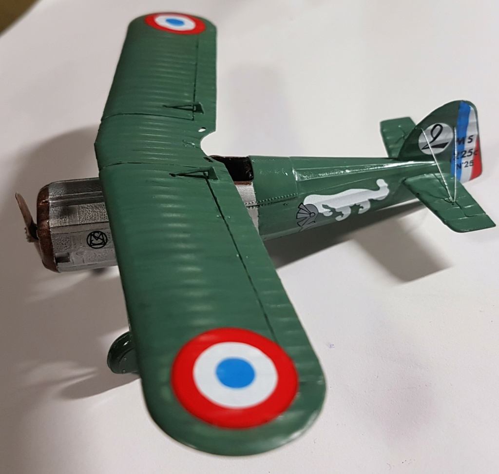 Fil rouge 2021 * Morane Saulnier MS 225 (Heller 1/72) - Page 4 20210678