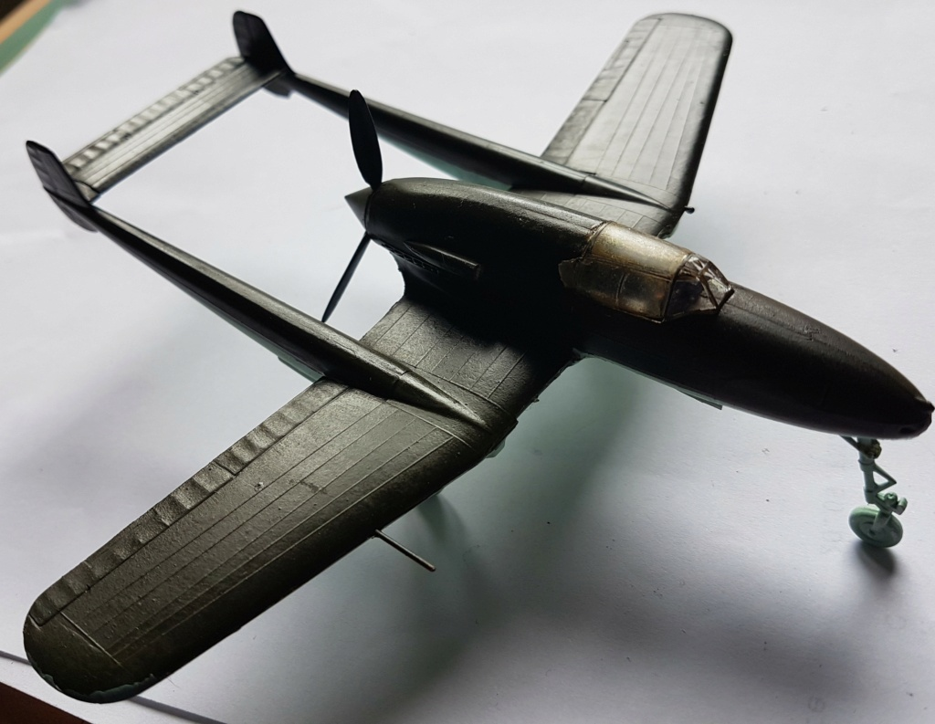 SAAB J-21 A  Heller 1/72 from the box - Page 3 20210711