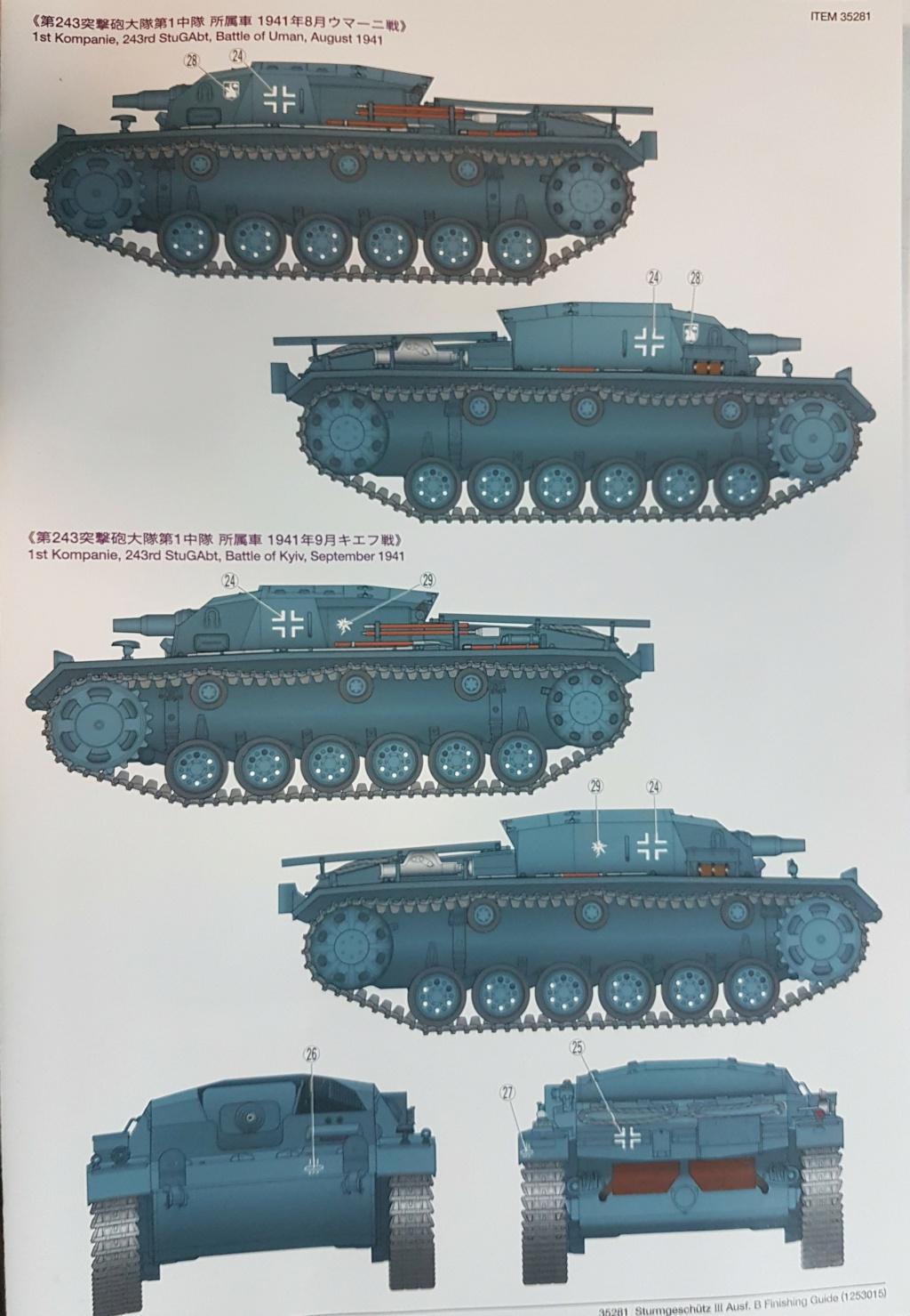 From the box - stug III Ausf.B tamiya 1/35 20210932