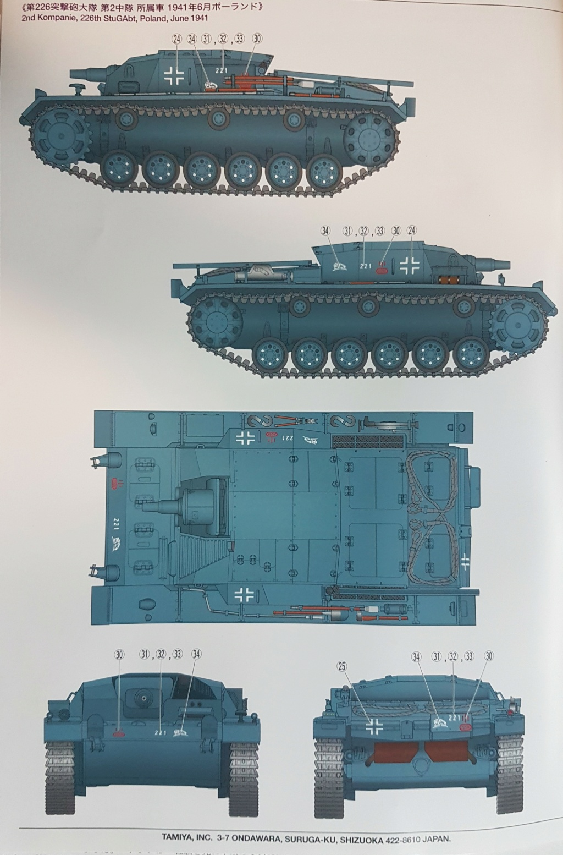 From the box - stug III Ausf.B tamiya 1/35 20210933