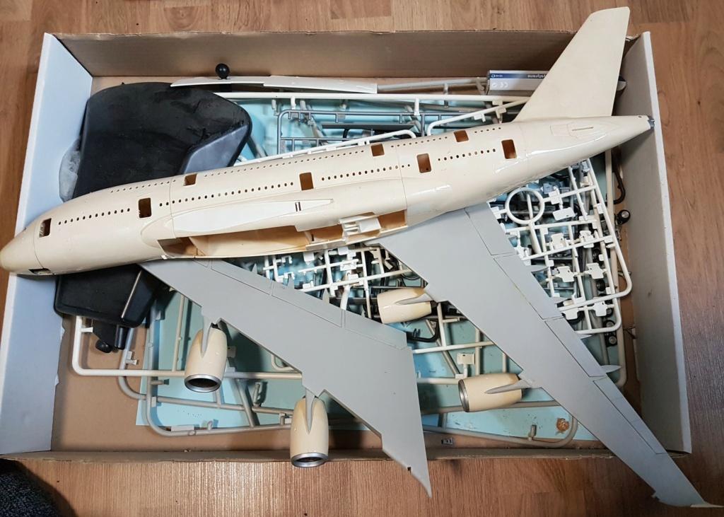 Airbus A380 Heller 1/125 20211013