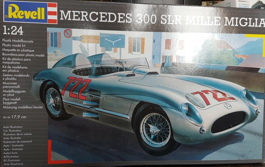 Mercedes 300 SLR mille miglia 1/24 Revell 20211016
