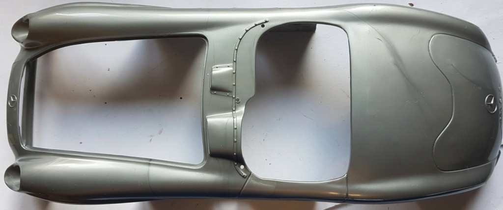 Mercedes 300 SLR mille miglia 1/24 Revell 20211026