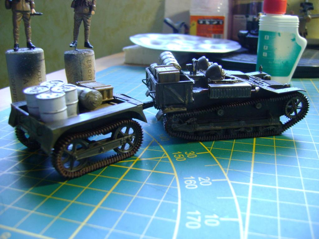 Tankette Renault UE [Tamiya 1/35] (terminée) - Page 2 Dsc01713