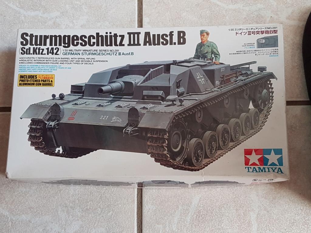 From the box - stug III Ausf.B tamiya 1/35 Tamiya12