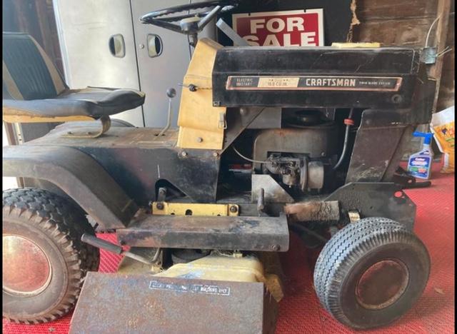 late 60s craftsman mini mower/cruiser build Img_5510