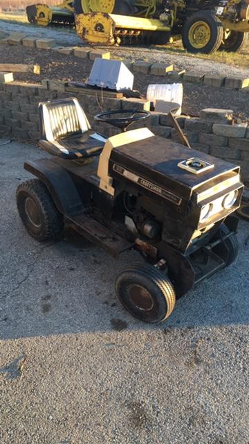 late 60s craftsman mini mower/cruiser build Img_5910
