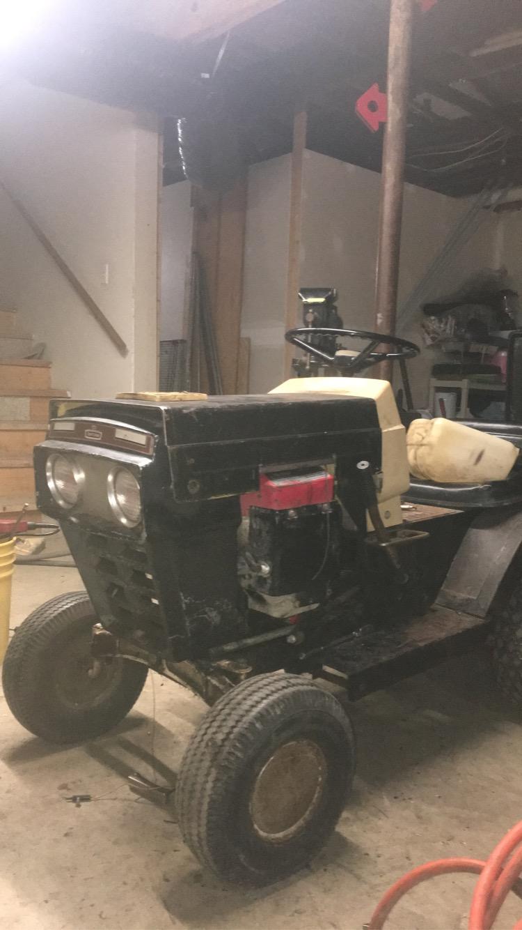 late 60s craftsman mini mower/cruiser build Img_7410