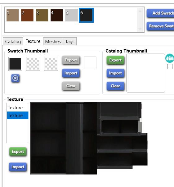 [SIMS4/CC] Problème de texture lors de modification de mesh 2019-038