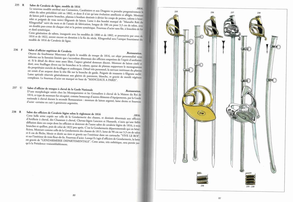 Quand était le fourreau modèle 1816 pour sabre cuirassier an XIII introduit? 110