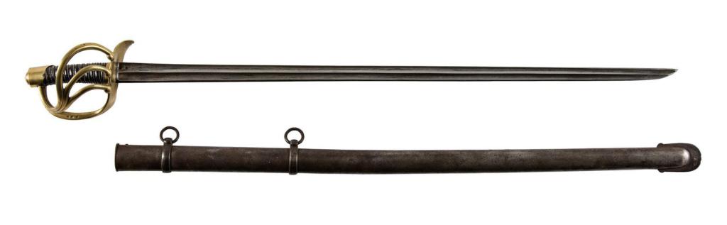 Que pensez-vous de ce fourreau accompagnant un sabre de cuirassie an XIII? 112