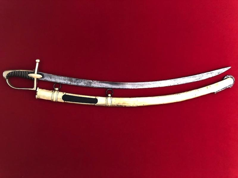 Sabre de Chasseur à Cheval de la Garde Impériale - avec restauration! 119