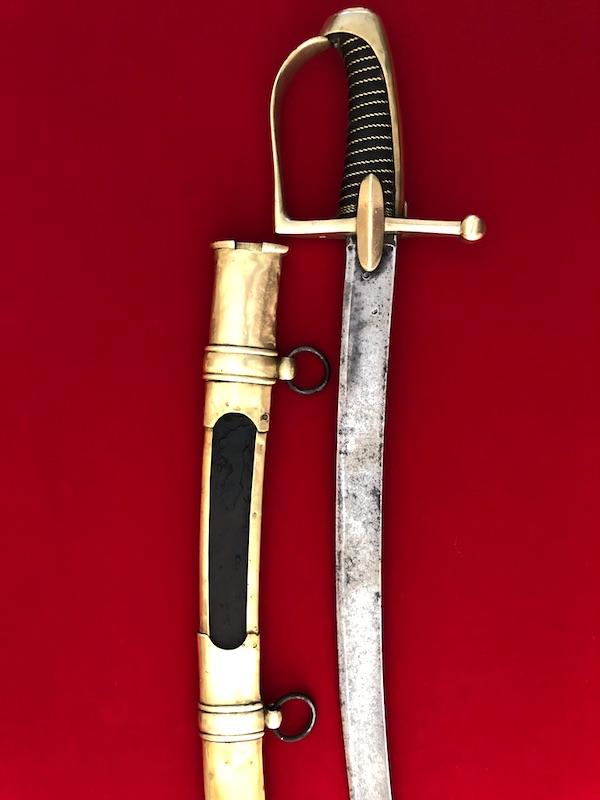 Sabre de Chasseur à Cheval de la Garde Impériale - avec restauration! 217