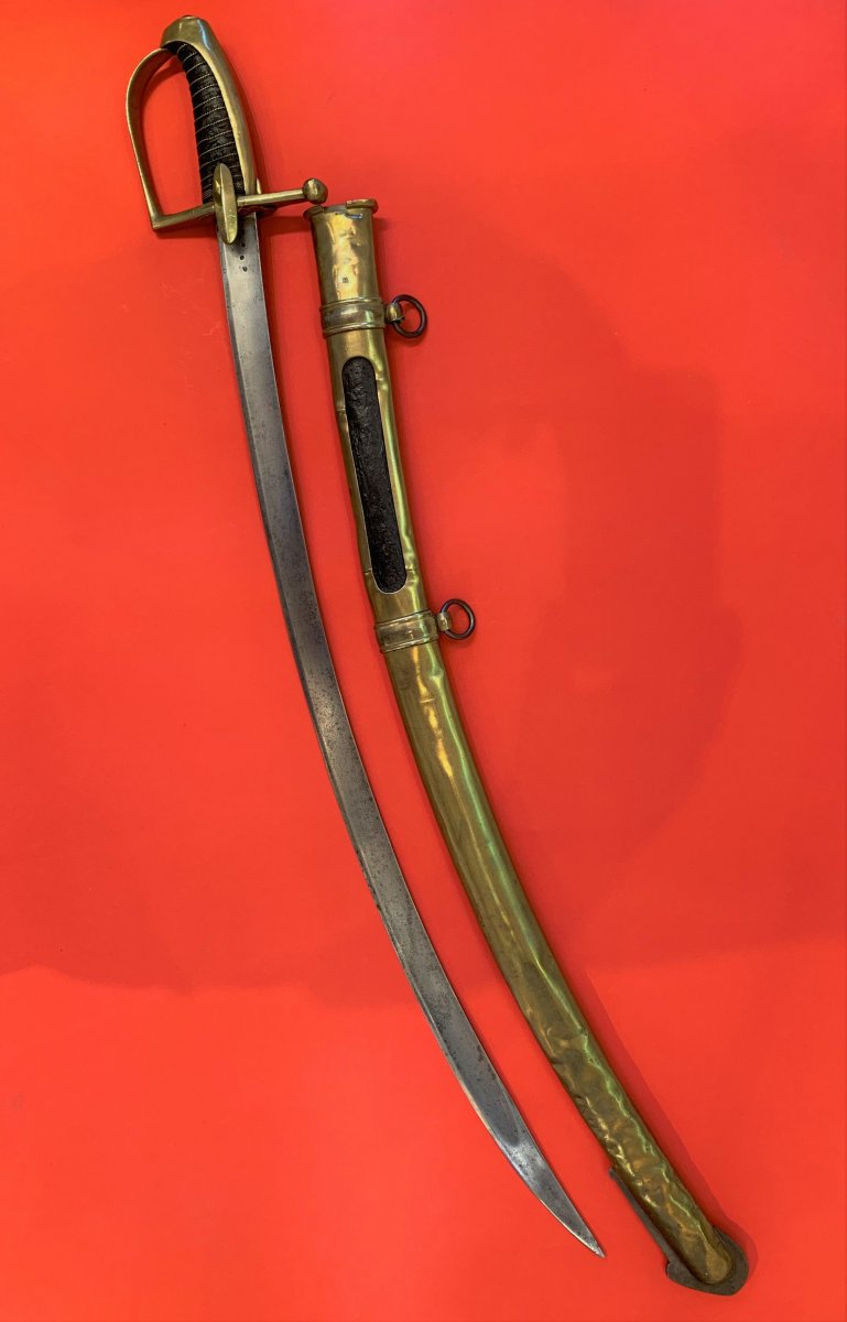 "Sabres napoléoniens avec poinçon ""A"" C110"