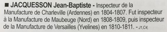 """Poinçon """"J"""" sur Sabre de Grenadier à Cheval de la Garde Impériale: Jacquesson? Lequie10"""