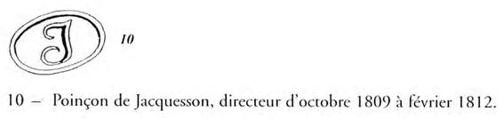 """Poinçon """"J"""" sur Sabre de Grenadier à Cheval de la Garde Impériale: Jacquesson? Petard12"""