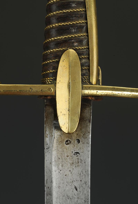Sabre de Chasseur à Cheval de la Garde Impériale pour inspection. Produi10