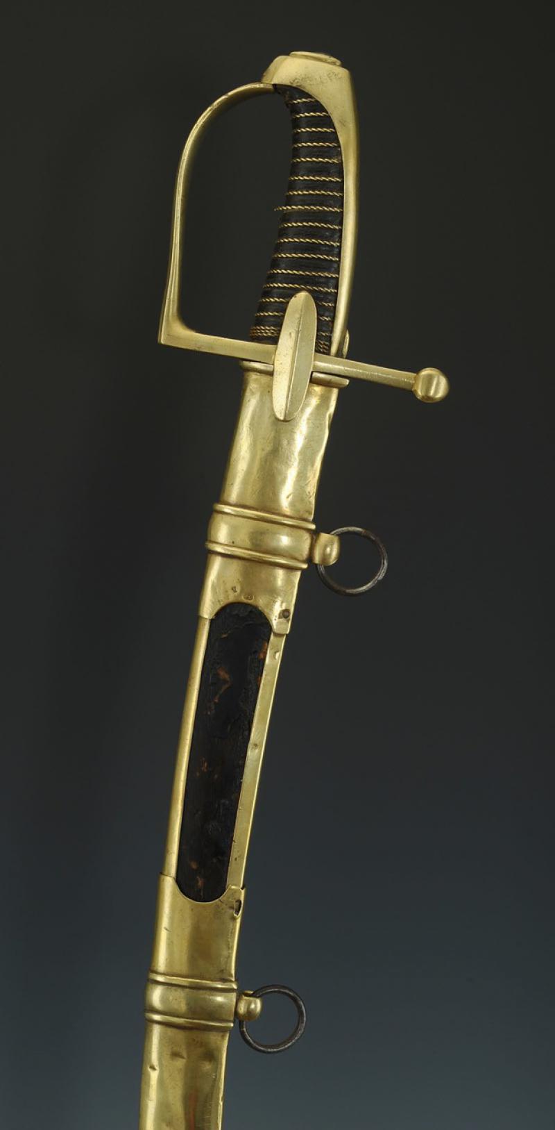 Sabre de Chasseur à Cheval de la Garde Impériale - avec restauration! Produi15