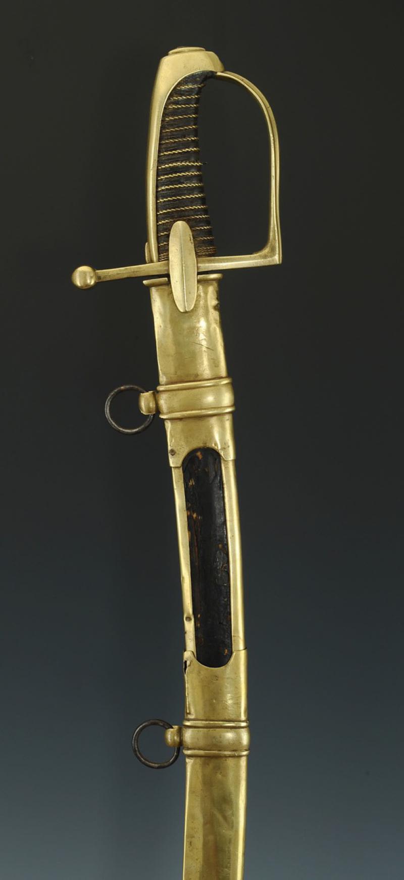 Sabre de Chasseur à Cheval de la Garde Impériale - avec restauration! Produi19