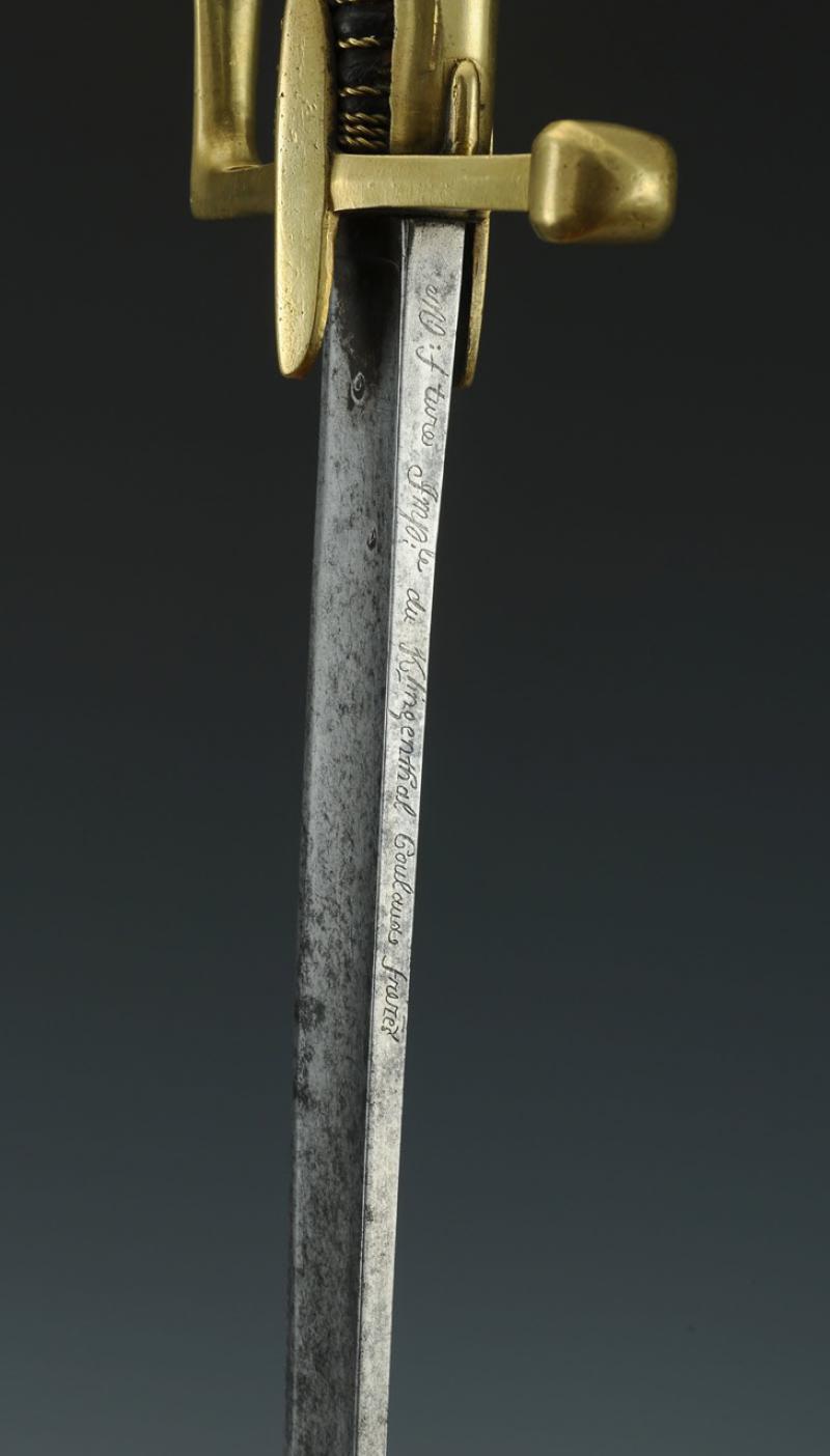 Sabre de Chasseur à Cheval de la Garde Impériale - avec restauration! Produi20