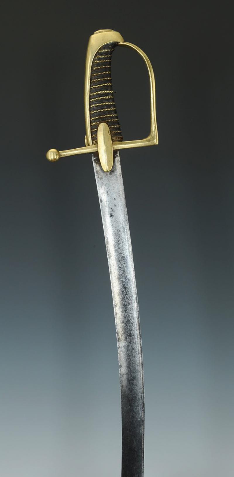 Sabre de Chasseur à Cheval de la Garde Impériale - avec restauration! Produi21