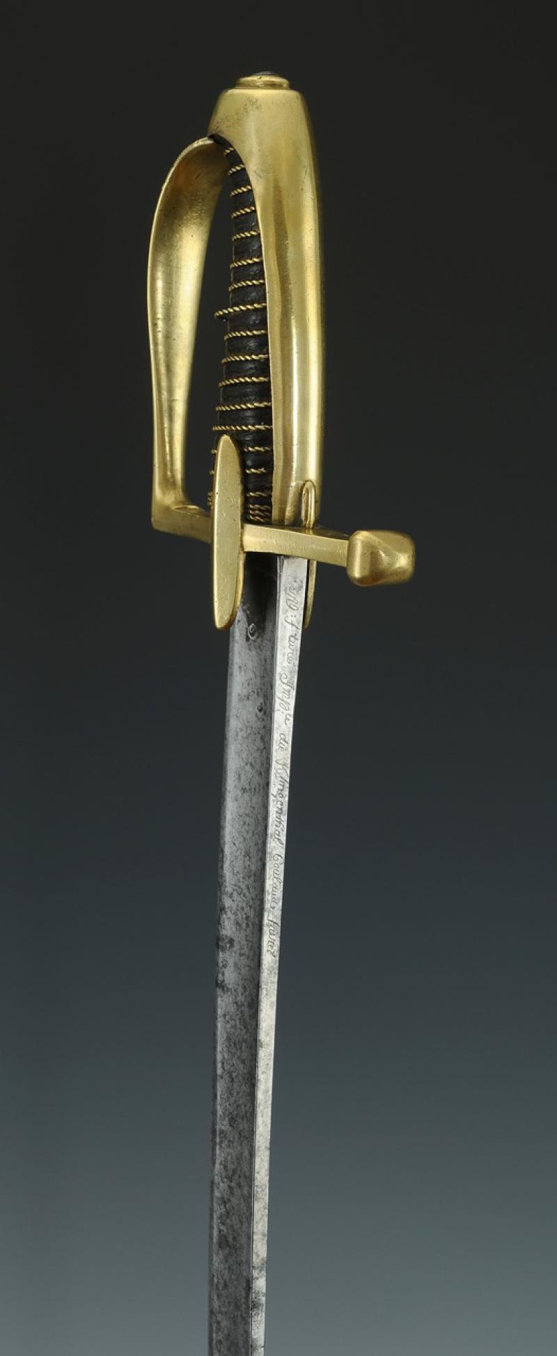 Sabre de Chasseur à Cheval de la Garde Impériale - avec restauration! Produi22