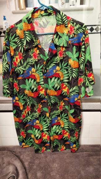 Hubby's new shirt 20210816