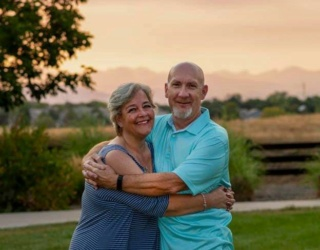 hubby and I on our sunset photo shoot Us210