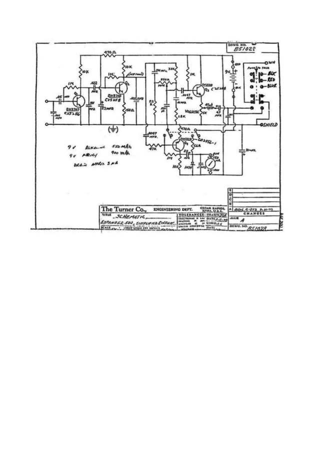 EuroCB - Turner Expander 500 (Micro de table) Page-210